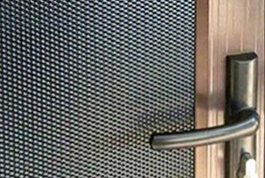 Photo of Vision Gard security mesh detail
