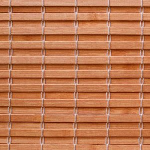 Woven Bamboo Golden Oak material swatch