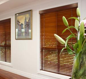 Photo of Timber Venetian Blinds